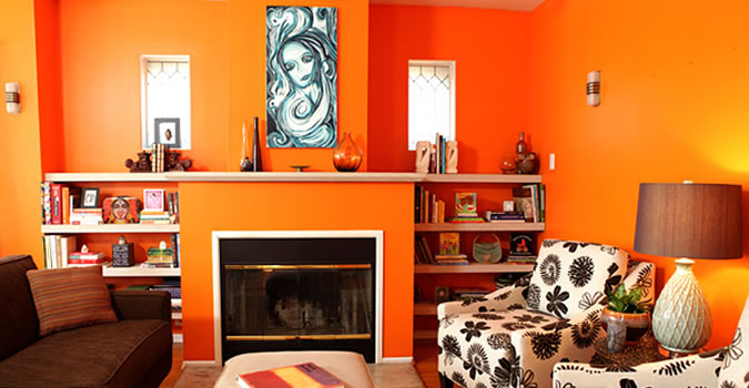Interior Painting Services in Redding